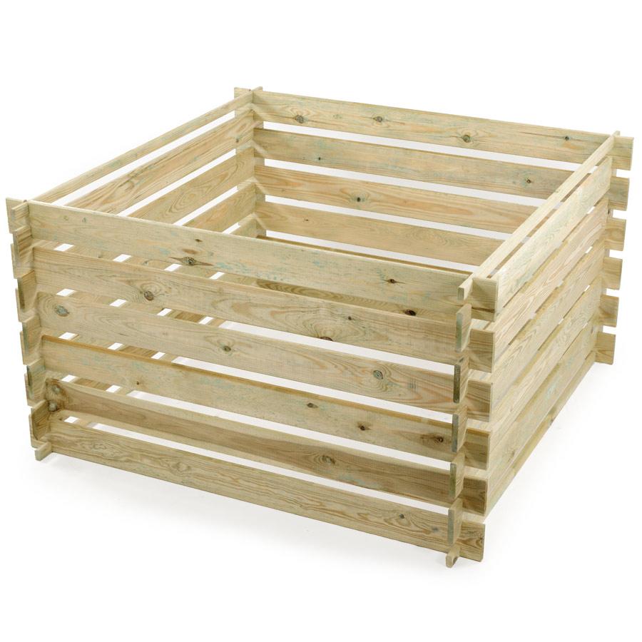 Comment fabriquer soi-même son composteur en bois?