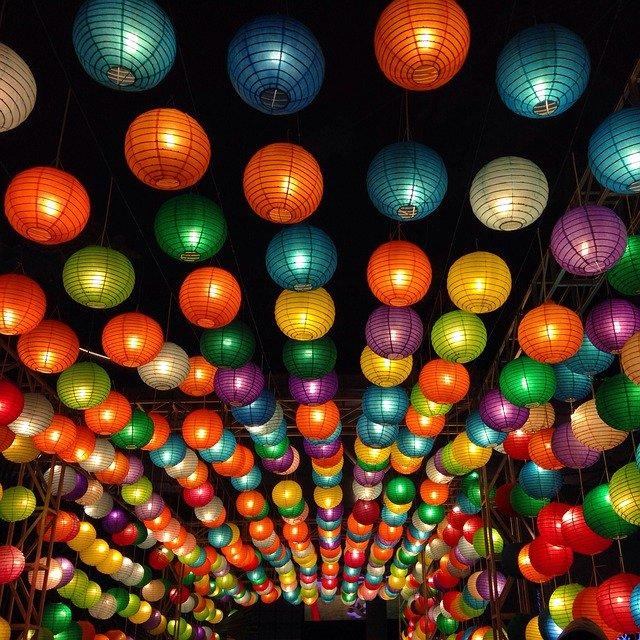 lampions asiatiques